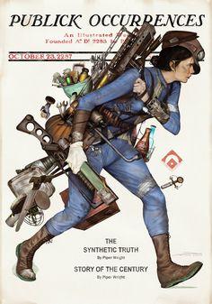 Fallout 4 Junktown Vendor by MattDeMino