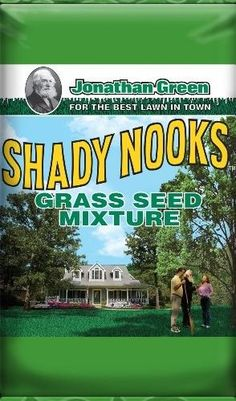 Jonathan Green Shady Nooks Grass Seed, 25-Pound, As Shown