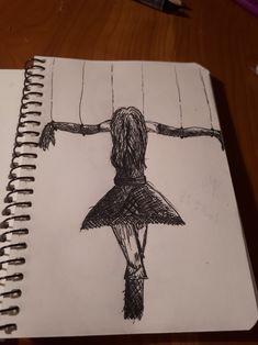 Creepy Drawings, Dark Art Drawings, Art Drawings Sketches Simple, Pencil Art Drawings, Cool Drawings, Emotional Drawings, Meaningful Drawings, Dark Art Illustrations, Art Diary