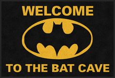 Bat Cave Bat Man Rug<< I'm sorry, but why is it a MAN rug? I didn't even realize that rugs had specific genders.