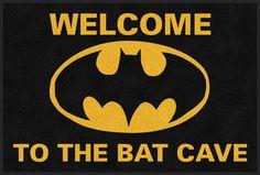 Bat Cave Bat Man Rug. Need this so badly