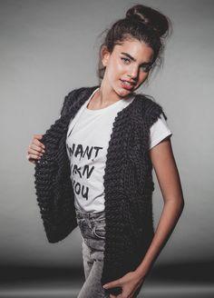 Strickveste im Set mit Anleitung / DIY knitting instruction with material for vest by weareknitters via DaWanda.com
