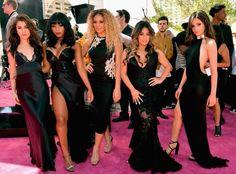 Fifth Harmony at the @BBMAs Magenta Carpet #5HBBMAs