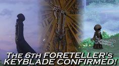 XEHANORT'S KEYBLADE ORIGIN CONFIRMED! THE 6TH FORETELLER'S KEYBLADE!