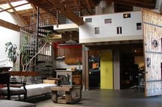 2 story garage converted into apartment