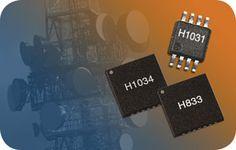 Hittite's 125 to 3000 MHz HMC1034LP6GE clock generator for use with ADC, DAC, FPGA, DSP and processor clocking applications