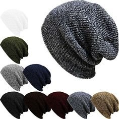 Pattern is for a crochet slouch hat, picture shows a knit hat.