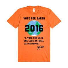 Vote For Earth 2016