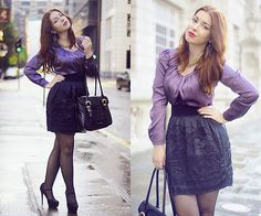 Lilac Lush (by Anna Kornilova) http://lookbook.nu/look/3741023-Lilac-Lush