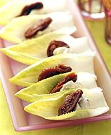 Gorgonzola and Fig-Stuffed Endives Appetizer Recipe - 1 Point Value - LaaLoosh