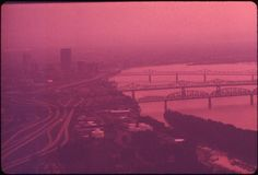 https://flic.kr/p/cE7w6u | Smog Hangs Over Louisville And Ohio River, September 1972 | Original Caption:  Smog Hangs Over Louisville And Ohio River, September 1972  U.S. National Archives' Local Identifier: 412-DA-1390  Photographer:  Strode, William   Subjects: Louisville (Jefferson county, Kentucky, United States, North and Central America) inhabited place Environmental protection Natural resources Pollution Ohio River Project DOCUMERICA   Persistent URL…