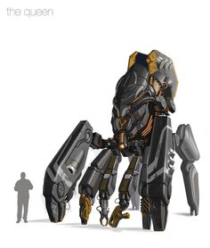 art conceitual Concept Art by Igor Sobolevsky at C - Spider Robot, Drones, Mecha Suit, Character Concept, Character Design, Art Painting Gallery, Star Wars Outfits, Robot Concept Art, Robot Design