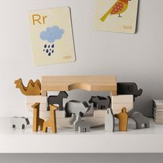 Wooden Noah's Ark Toy | Luxury Toys | Toys & Books | The Little White Company | The White Company UK | BAJO for TWC