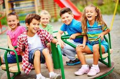 We asked experts from many different organizations that focus on playground safety for their best tips. Here's their top 10 playground safety tips! Safety Week, Safety Tips, Playground Safety, Finding New Friends, Four Kids, Friends Laughing, Little Tikes, Online Gratis, School Holidays