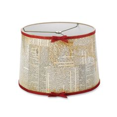 Cedar Lodge Mod Podge® Book Page Lampshade Attention book lovers! Here is a great DIY project using pages right out of your old books. Diy Old Books, Recycled Books, Book Page Art, Book Pages, Painting Lamps, Shabby, Diy Furniture Projects, Furniture Makeover, Crafty Craft