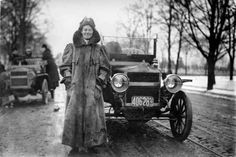 """Alice Huyler Ramsey, the first woman to drive across America, said , """"Good driving has nothing to do with sex. It's all above the collar."""""""