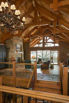 Timber framed home <3