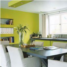 Superieur Association Couleur Avec Le Vert Dans Salon, Chambre, Cuisine