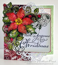 dutchess: Heartfelt creations Poinsettia