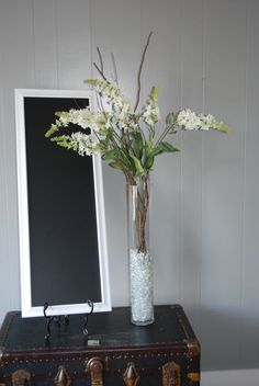 branch wedding centerpeices tall white and green :  wedding branch centerpiece ceremony flowers green reception tall white DSC 0066