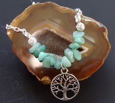 Aventurine Optimism Bracelet coupled with by ParanormalProtection, $20.00