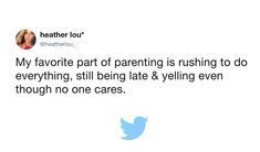 These Tweets Prove You're Not the Only One Who Wants to Fast Forward a Phase :: YummyMummyClub.ca
