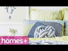 DIY IDEA: Celtic knot cushion - homes+ - YouTube