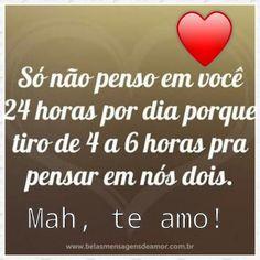 T amo!