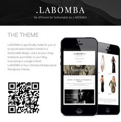 LOOK Book responsive (Kat likes this one) $58.00  WordPress - Labomba - Responsive Multipurpose Wordpress Theme | ThemeForest