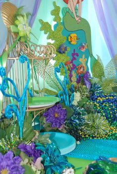 1000 Images About Birthday Little Mermaid On Pinterest