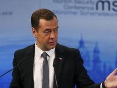 Dmitri Medvedev fait l'événement  à la conférence de Munich !!! • Hellocoton.fr
