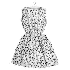 b22a2785a5f1 Plus Size Women Summer Autumn Fashion Vintage Casual Boho Party Chiffon Beach  Dress Print Floral Sundress