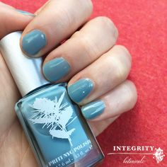 Priti NYC 'Forget Me Not' #bluenails #8freenailpolish #nailpolish #5free #vegan #glutenfree #crueltyfree #pritinyc