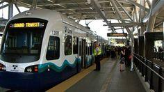 Seattle light rail. Sound Transit.