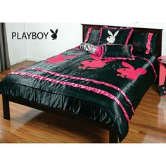 High Quality My Playboy Frill Quilt Cover Set ❤️