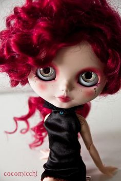 just Nini by cocomicchi #blythe #dolls #dollies #handmade