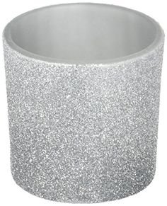 Fashioncraft 5490 Bling Collection Silver Glitter Candle Votive * Click image for more details.Note:It is affiliate link to Amazon. #american