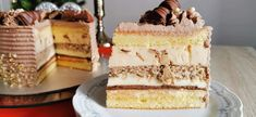 Romanian Desserts, Homemade Cakes, Cake Cookies, Vanilla Cake, Nutella, Mousse, Biscuits, Caramel, Sweet Tooth