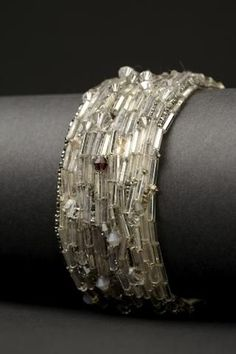 Bugle beads, Vintage metal and Seed beads on Pinterest