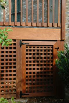 Exotic hardwood decks are our specialty. Deckbuilders is the number one rated deck company in the Tennessee Valley. Under Deck Storage, Outdoor Storage Sheds, Deck Gate, Deck Stairs, Lattice Deck, Square Lattice, Outdoor Deck Decorating, Deck Skirting, Hardwood Decking