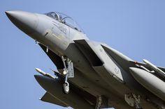 https://flic.kr/p/25nWDjd | McDonnell Douglas F-15D Eagle | Leeuwarden AB, Netherlands