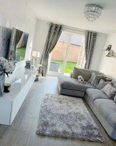 Decor Home Living Room, Living Room Grey, Living Room Designs, Decor Room, Living Rooms, Wall Decor, Home Room Design, Living Room Inspiration, House Rooms