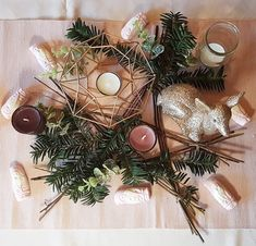 Decoration, Christmas Wreaths, Holiday Decor, Home Decor, Christmas Tabletop, Noel, Projects, Decor, Decoration Home