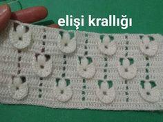 Crochet Crocodile Stitch, Crochet Stitches, Baby Knitting Patterns, Crochet Patterns, Afghan Stitch, Crochet Video, Crochet Cardigan, Filet Crochet, Fingerless Gloves