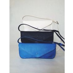 Anika Tricolor ⚪️⚫️ #bag #leather #handmade #white #black #cobalt #blue #madeinitaly