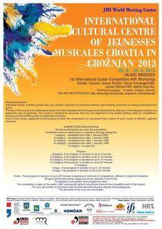 JM CROATIA presents Music Bridges: The 1st International Guitar Competition in Groznjan