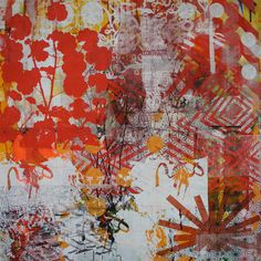new backing cloth paintings Hitomi Iketani