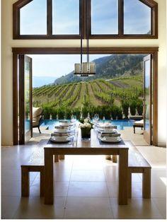 #Comedor con vistas #comedor #diningroom