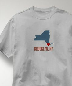 Cool Brooklyn New York NY Shirt from Greatcitees.com