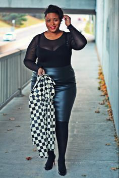 Bustin'Through Boundaries During The Holidays  #plussize #fashion